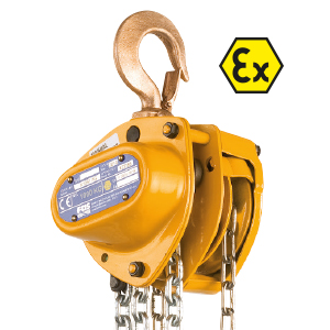 Kito K series ATEX|Atex version|WLL from 500 kg to 30 t